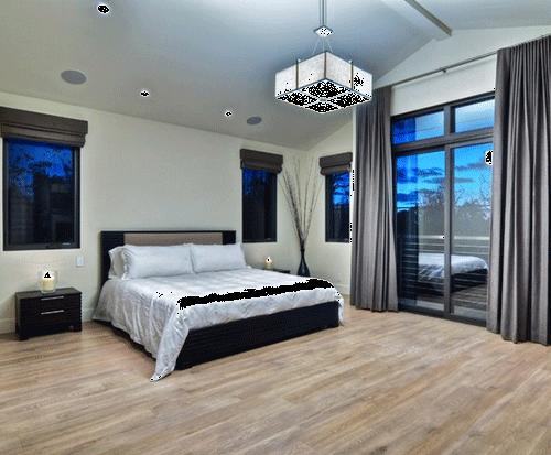 轻钢结构别墅卧室装修